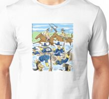 Scalp Me!  Stupid tricks while fighting a battle. Unisex T-Shirt