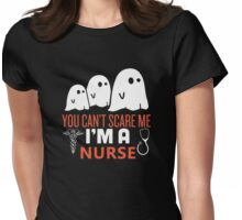 halloween nurse Womens Fitted T-Shirt
