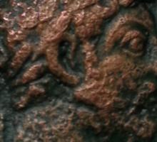 Ancient Roman Coin - MARCUS AURELIUS Sticker