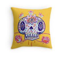 Shooga Skull Throw Pillow