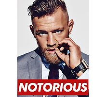 The Notorious - CONOR MCGREGOR Photographic Print
