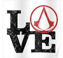 Love Assassin's Creed Poster