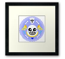 Sans The Skeleton Framed Print