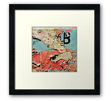"""""""Colour Kisses"""" Framed Print"""