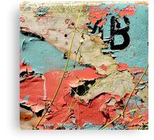 """""""Colour Kisses"""" Canvas Print"""