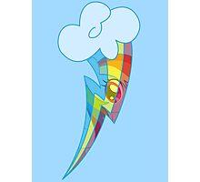 Rainbow Dash Cutie Photographic Print