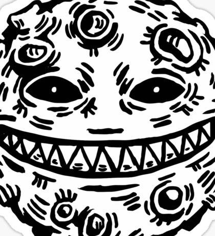 Evil Moon Sticker