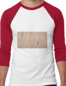 Tsawwassen Heron- Sepia Men's Baseball ¾ T-Shirt