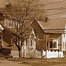 Typical homes in Valley Stream-Sepia by henuly1