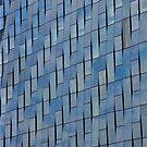 Blue Glass Facade by phil decocco