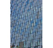 Blue Glass Facade Photographic Print