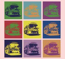 Bus to Nowhere Kids Tee