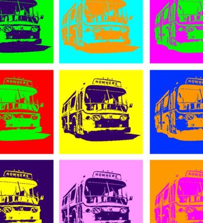 Bus to Nowhere Sticker