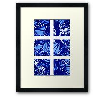 Fragmented Monarchy in Sharpie (Ice Ice Baby Edition) Framed Print