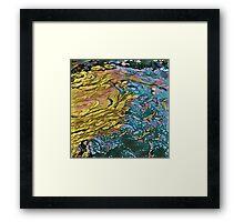 River Smog K1 Framed Print