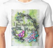 Step Into The Unexpected Unisex T-Shirt