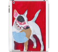 Red the English Bull Terrier iPad Case/Skin
