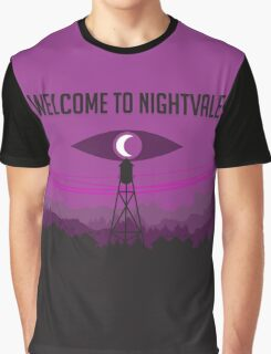 Welcome to Nightvale and Firewatch Crossover Graphic T-Shirt