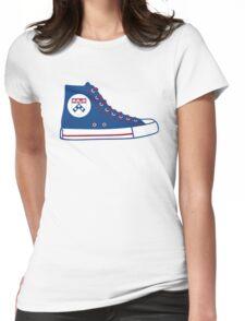 University of Pennsylvania UPenn Converse Sneaker Womens Fitted T-Shirt
