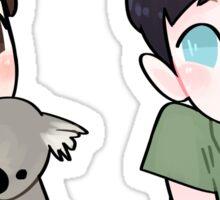 Dan & Phil Koala Sticker Pack Sticker