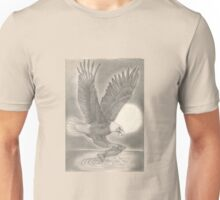 Eagle Catching a Fish Unisex T-Shirt