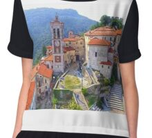 Sacred Mountain of Varese - Italy Chiffon Top