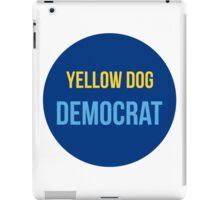 Yellow Dog Democrat iPad Case/Skin