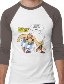 asterix and obelix Men's Baseball ¾ T-Shirt