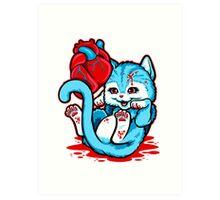 Cat Got Your Heart Art Print