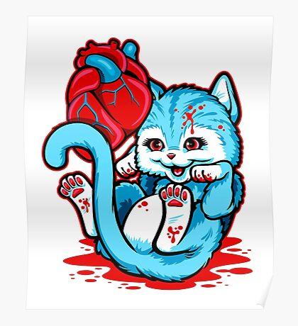 Cat Got Your Heart Poster