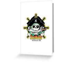 The Goonies - Never Say Die White Variant Greeting Card