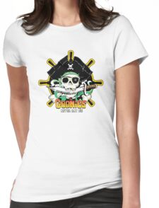 The Goonies - Never Say Die White Variant Womens Fitted T-Shirt