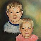 Barnsis's Grandkids......on craft foam by WildestArt