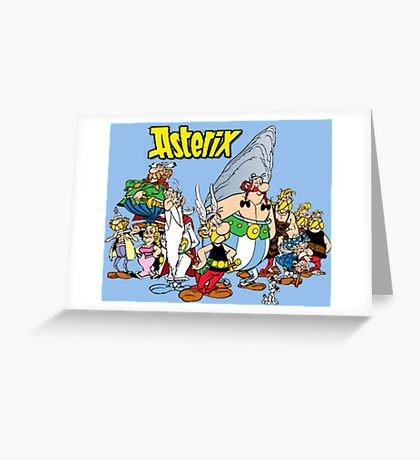 asterix and obelix Greeting Card
