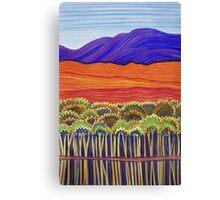 Pastel Art - Gulf Reflections Canvas Print