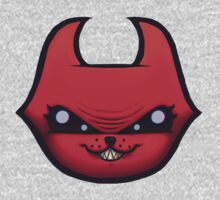 Skid Kittens - Hell Kittens FACE One Piece - Short Sleeve
