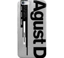 AGUST D ALBUM COVER iPhone Case/Skin