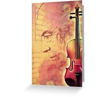 Adagio for Strings Greeting Card