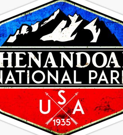 SHENANDOAH NATIONAL PARK VIRGINIA MOUNTAINS HIKING BIKING CAMPING 4 Sticker