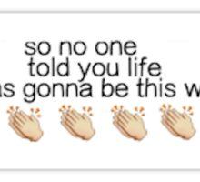 Friends Theme Song Sticker Sticker