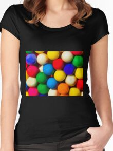 Bubble Gum Love Women's Fitted Scoop T-Shirt