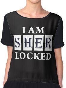 I Am Sher  Locked Chiffon Top
