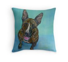Portrait of Zeus Throw Pillow