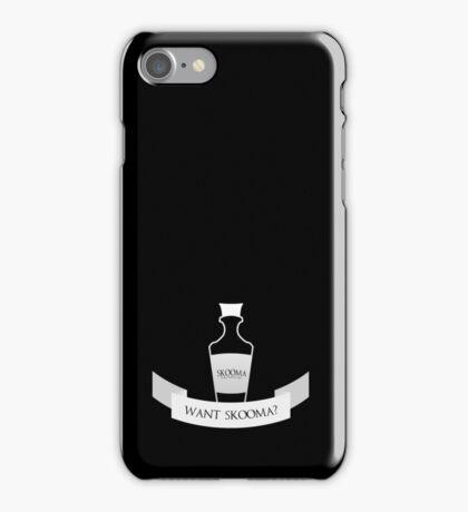Want Skooma? iPhone Case/Skin