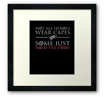 ON SALE | Premium All Fun and Games Divide by Zero T-shirt Framed Print