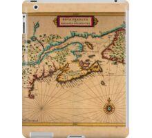 Map Of Canada 1630 iPad Case/Skin
