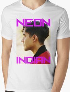 Neon Indian Mens V-Neck T-Shirt