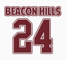 Stiles Stilinski 24 Beacon Hills Lacrosse Jersey  by hanelyn