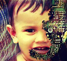 Cyborg baby by subhraj1t