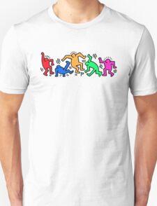 Keith Haring Dance Unisex T-Shirt
